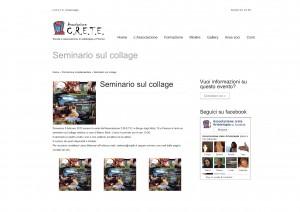 Seminario sul collage - Associazione C.R.E.T.E. - domenica 5 febbraio